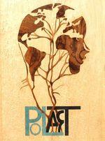 PolART-Logo Intarsie